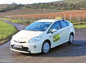 Toyota Prius Hybrid Taxi