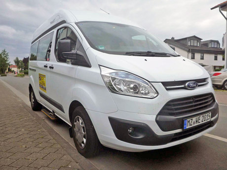 Ford Custom Langversion Shuttle Fahrten Angebote